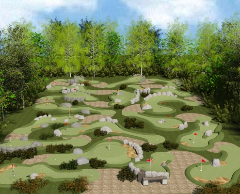 Kamarina sport for Garden city mini golf